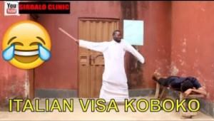 Video: Nigerian Comedy Clips - Italian Visa Koboko